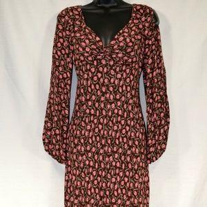 DIANE VON FURSTENBERG Women's Long Silk Dress